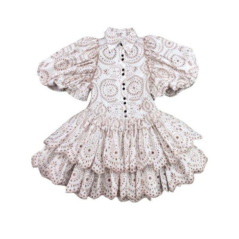2019 جديد وصول زهرة النساء اللباس-في فساتين من ملابس نسائية على  مجموعة 3