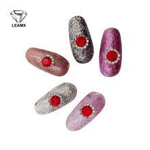10 PCS 3D Nail Art Three Color Diamond DIY Rhinestone Alloy Decoration Gems Craft Fashion Nails Salon Supplies Fingertips Jewelr