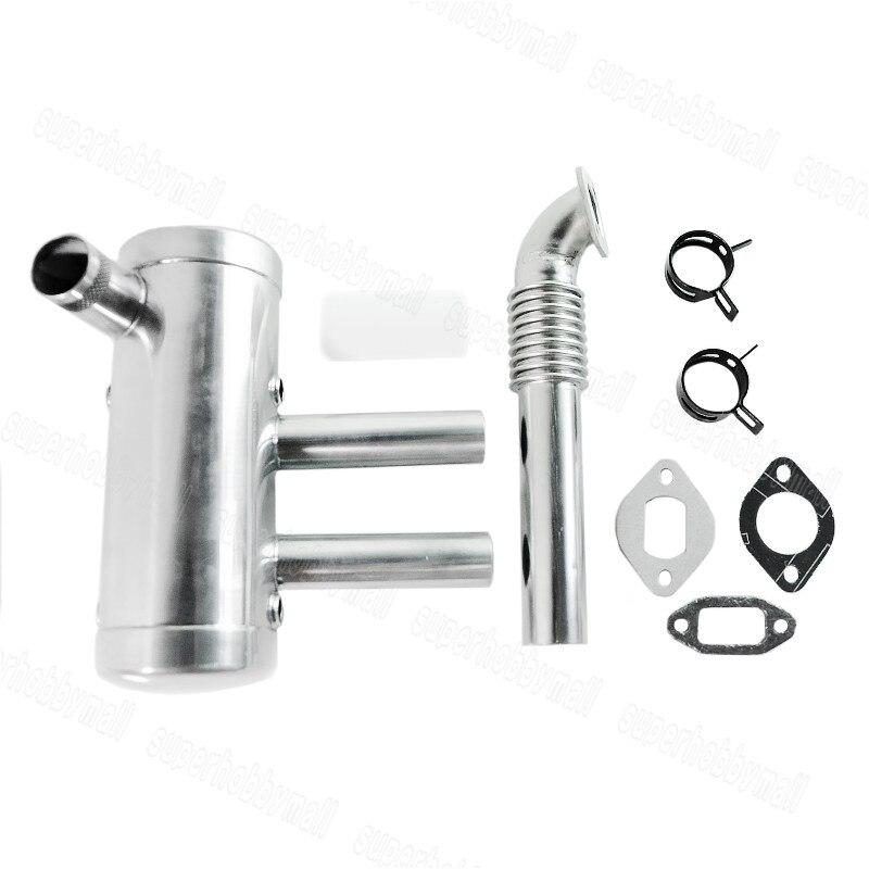Image 2 - Комплект глушителей для бензиновых двигателей EME 40 80CCДетали и аксессуары