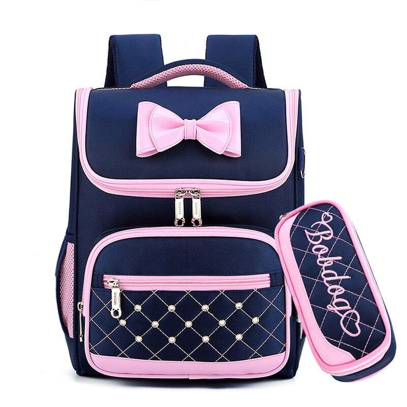 Mignon arc princesse sac à dos école sacs à dos pour filles enfants cartable sacs d'école pour maternelle Mochila Escolar sacs à dos