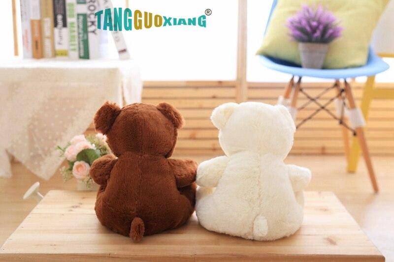 Image 4 - High Quality Toy Cartoon Teddy Bear Plush Toys 25cm Stuffed Plush Animals Bear Doll Birthday Gift For Children-in Stuffed & Plush Animals from Toys & Hobbies