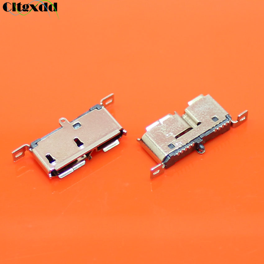 cltgxdd 1pcs Micro USB 3.0 Jack Sockect Tail Charging Port Mobile Hard Disk Interface Micro Connector Female 180Degree Vertical