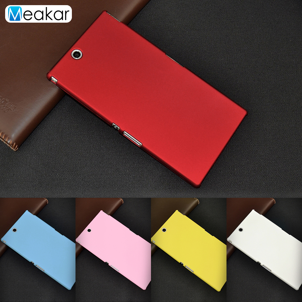 sports shoes 884e7 d0840 US $0.89 18% OFF|Grind arenaceous Hard Plastic shell 6.44For SONY Xperia Z  Ultra Case For SONY Xperia Z Ultra XL39h Cell Phone Cover Case-in ...