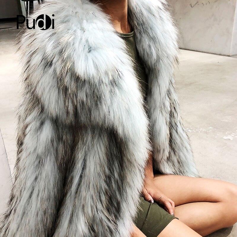 Brown Blue cyan Tricot Y181011 Fourrure De Manteau Laveur Chaud Femmes Réel Véritable Veste Raton Mode D'hiver Ourwear Tricoté TqZAxdqWwa