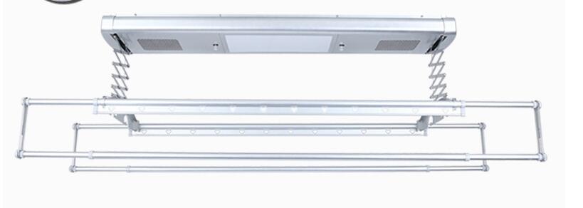Séchoir électrique commande vocale télécommande intelligente ascenseur balcon plafond automatique télescopique séchoir - 3