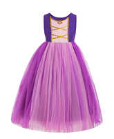 Rapunzel dress for Birthday costume Birthday dress costume Princess dress for Birthday DELUXE Tangled Rapunzel Tutu Dress