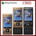 C905 Оригинальный Разблокирована Sony Ericsson C905 8MP 3 Г WI-FI Bluetooth Поддержка Русская Клавиатура Мобильный Телефон Бесплатная доставка