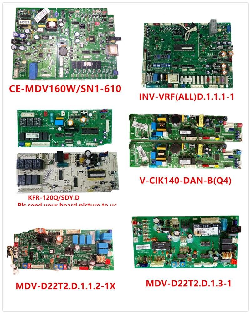 CE-MDV160W/SN1-610| INV-VRF(ALL)D.1.1.1-1| KFR-120Q/SDY.D| V-CIK140-DAN-B(Q4)| MDV-D22T2.D.1.1.2-1X| MDV-D22T2.D.1.3-1 Used Good