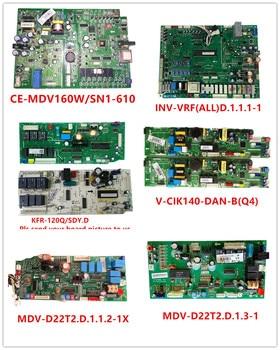 CE-MDV160W/SN1-610  INV-VRF(ALL)D.1.1.1-1  KFR-120Q/SDY.D  V-CIK140-DAN-B(Q4)  MDV-D22T2.D.1.1.2-1X  MDV-D22T2.D.1.3-1 Used Good