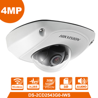 Original HIKVISION DS 2CD2543G0 IWS WiFi Camera 4MP IP Camera Replace DS 2CD2542FWD IWS