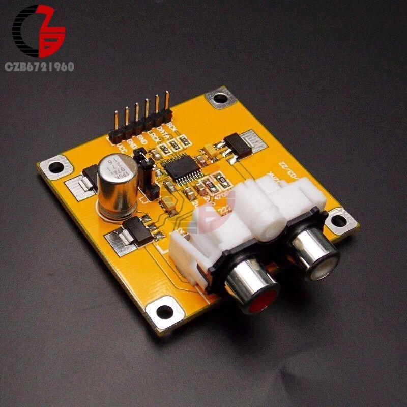 PCM5102 DAC Decoder I2S Player Assembled Board 32Bit 384K Beyond ES9023 PCM1794 For Raspberry Pi gefest 5102 02 0001 5102 02к