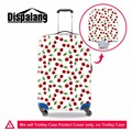 Fruit Printed Luggage Covers for Women Apple Cherry Pattern Cover for Suitcase Cute Luggage Protectors Spandex Waterproof Cover