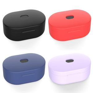 Image 1 - Anti Shock kompleksowy futerał ochronny pełne etui na xiaomi Redmi Airdots TWS słuchawki Bluetooth akcesoria do zestawu słuchawkowego dla młodzieży