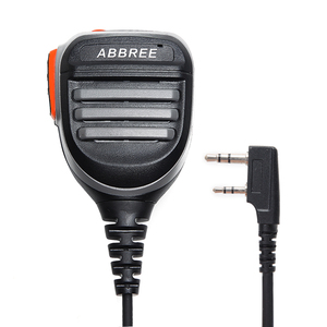 Image 2 - Abbree AR 780 Ptt Afstandsbediening Waterdichte Luidspreker Mic Microfoon Voor Radio Kenwood Tyt Baofeng UV 5R 888S UV 82 Walkie Talkie AR F8
