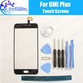 Umi Plus Pantalla Táctil Digitalizador de Reemplazo de Cristal Del Panel Táctil Digitalizador 100% de Garantía Original Para Umi Plus + Herramientas