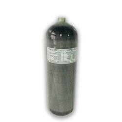 AC168 aire pcp rifle hpa tanque 6.8L 4500psi cilindro de buceo comsposite de fibra de carbono de la CE para la Fuerza Aérea de condor de aire comprimido