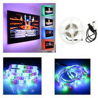 12v LED Strip Smd5050 RGB Led Strip New USB Light Bar TV Background USB RGB Controller