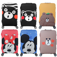 Travel Luggage Elastic Protective Cover For19 32 Inch Trolley Suitcase Dust Bag Protective Case Cover Travel