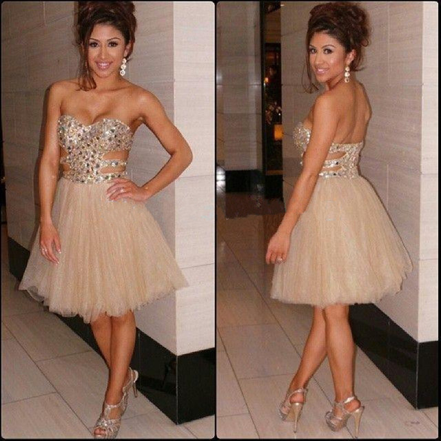 Online Buy Wholesale homecoming dresses strapless from China ...