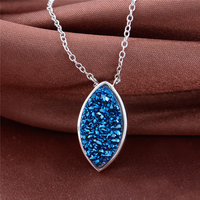 41 5CM Necklace Pendant 925 Sterling Silver Joyas De Plata For Women GW Fine Jewelry FNET002