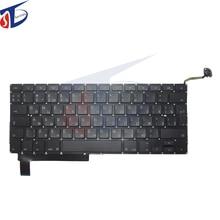 "10pcs/lot NEW original for macbook pro 15.4"" RU keyboard A1286 Russian Russia keyboard without backlight 2009 2010 2011 2012"