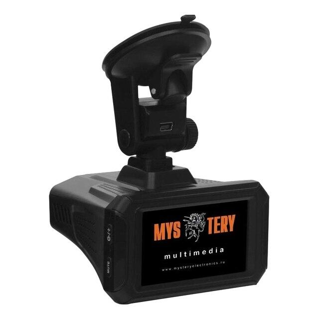 """Видеорегистратор-радар MYSTERY MRD-1010SHDVSG (2.7""""-дисплей, максимальное разрешение камеры: видео 2560x1080, Обнаружение сигналов радаров в диапазонах X/UltraX, K/UltraK, Ka, Обнаружение радаров Стрелка-СТ/М и К"""