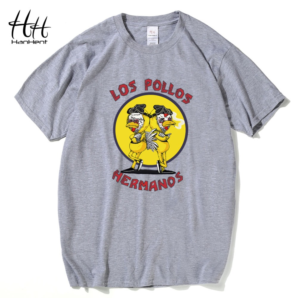 HanHent Los Pollos Hermanos T Shirt New Design Chicken Brothers Men's  Fashion Breaking Bad T Shirt Short Sleeve Hip Hop Tees-in T-Shirts from  Men's Clothing ...