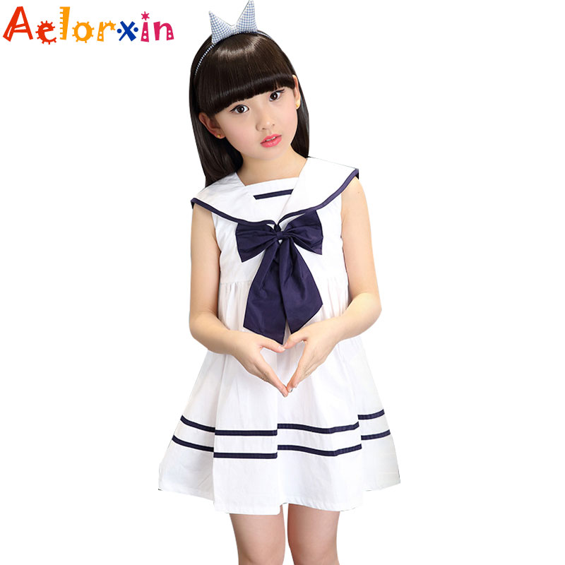 2018 Kids Dresses For Girls Preppy Style Off Shoulder Girls Dresses Cotton Striped Teenage Princess Party Dress 4 5 7 9 12 Years girls princess party dresses 4 long sleeve striped kids dresses for girls 6 preppy style bottoming dress 8 ball gowns 10 12years