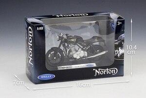Image 4 - Welly 1:18 Norton Komando 961 SE Diecast Motosiklet