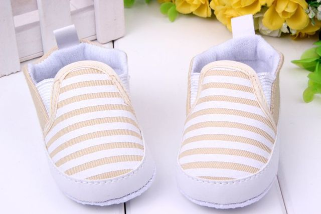 2017 New design baby Boy first walkers shoes Soft Sole Skid Proof Baby Shoes 0-12 Months