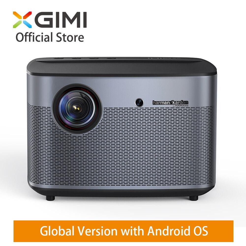 Глобальный XGIMI H2 DLP домашний проектор 1350 ANSI люмен 1080 p светодиодный 300 3D Видео Android WIFI Bluetooth Smart Театр HDMI 4 K проектор