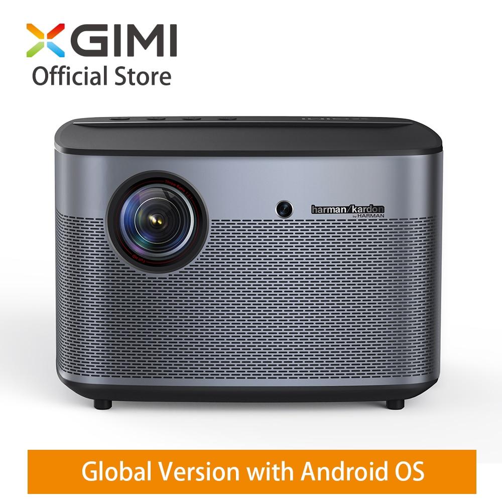 Mondiale XGIMI H2 DLP Home Projecteur 1350 ANSI Lumens 1080 p LED 300 3D Vidéo Android Wifi Bluetooth Smart théâtre HDMI 4 k Beamer