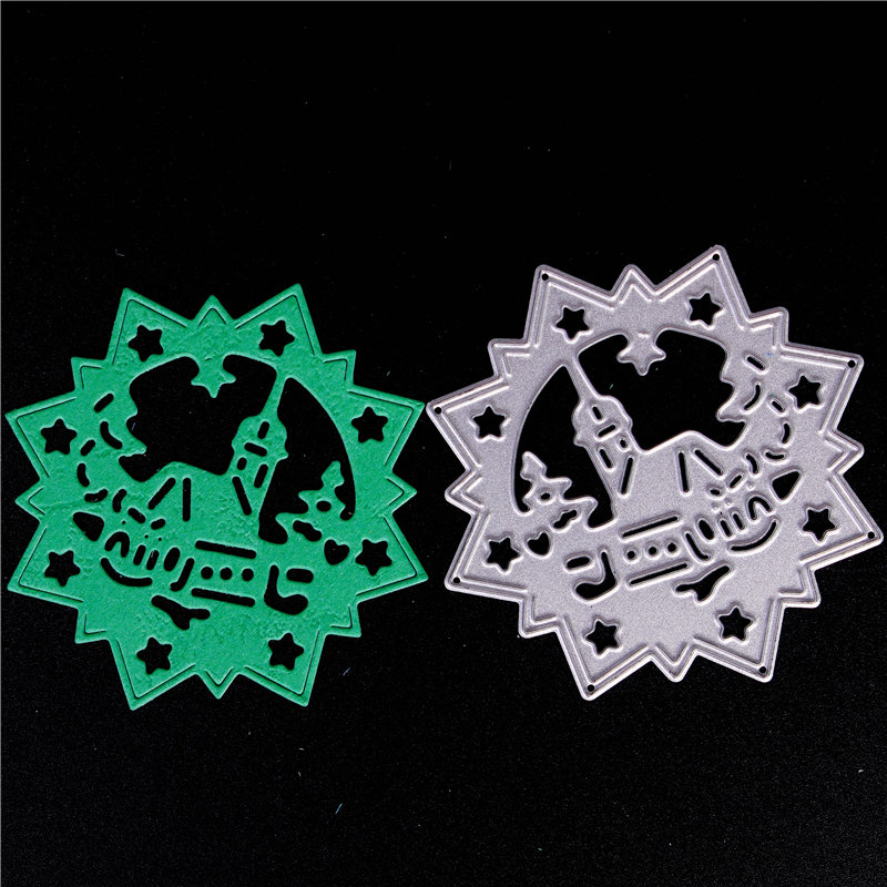 Metal Cutting Dies for Diy Scrapbooking Die Cut New 2018 Cuts for Paper Card Making Craft Embossing Photo Diamond House