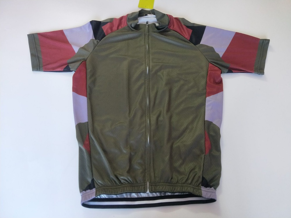 b4e919e0f 2018 Army Cycling Clothing Bike jersey Quick Dry Mens Bicycle clothes  summer team Cycling Jerseys gel bike shorts set