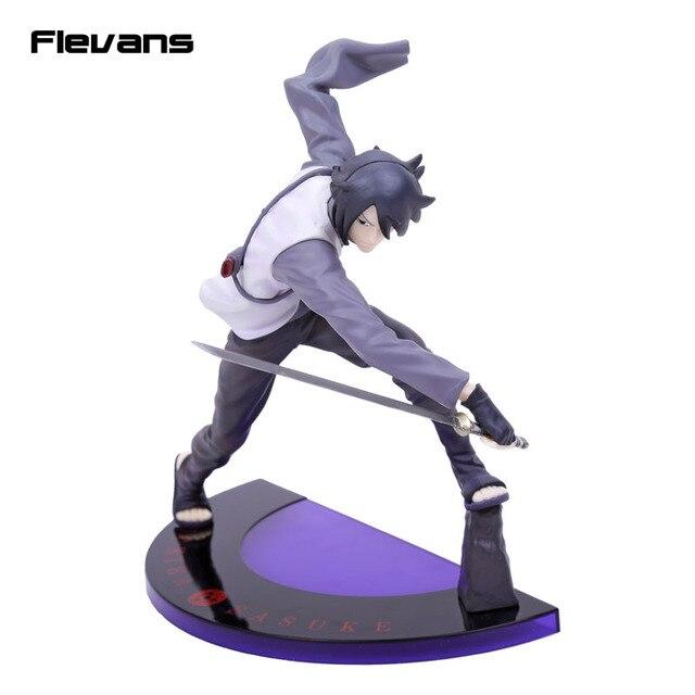 Anime GEM Naruto Shippuuden Naruto O Filme BORUTO Uchiha Sasuke PVC Figura Collectible Modelo Toy 20 cm