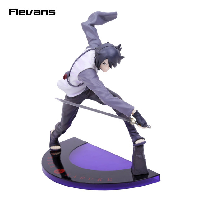 Anime GEM Naruto Shippuuden Naruto The Movie BORUTO Uchiha Sasuke PVC Figure Collectible Model Toy 20cm