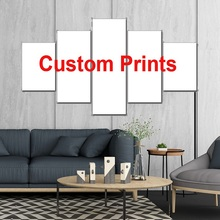 Paintings DIY Prints Modular Canvas HD Pictures Home Decor 5 Pieces Sacred Om Symbol Posters  Assassins Creed Custom Made