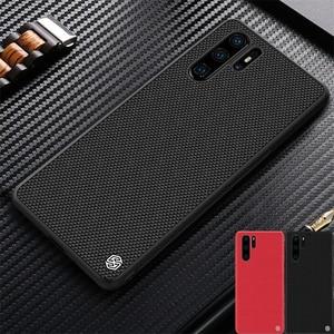 Image 1 - For Huawei P30 Case P30 PRO Cover NILLKIN Textured Nylon Fiber Back Cover Durable Non slip Thin and Light Case for Huawei P30PRO