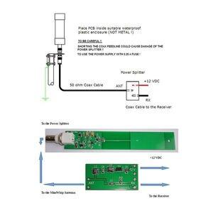 Image 2 - MiniWhip aktywna antena 10kHz   30MHz HF LF VLF mini bicz krótkofalówka SDR RX przenośny odbiornik odbieranie BNC