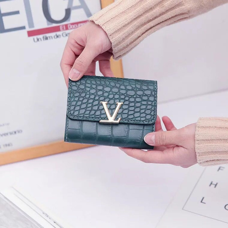 Hot New Designs Fashionable Luxury Women's Wallets Wallets Women's Wallets perse Portomonee Portfolio Ladies Short Carteras Lov