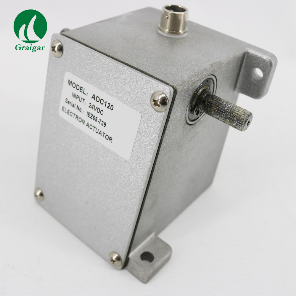 External Electric Actuator ADC120-24V 1.3 ~ 2.1Nm Torque Operated 24 Volts Battery Supply