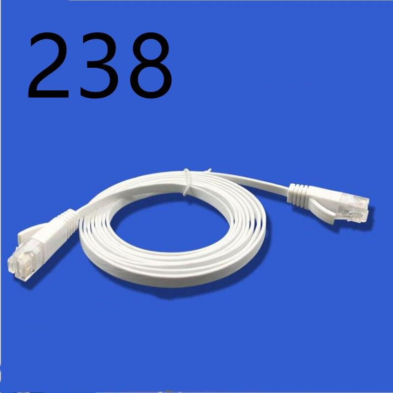 238 # HIXANNY CAT5 câble Ethernet plat réseau Ethernet cordon de raccordement câble LAN CAT5
