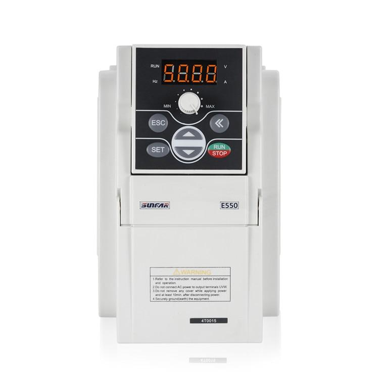 Переменный Частотный Привод VFD E550 инвертор 3.0KW 4HP 220В E550-2S0030
