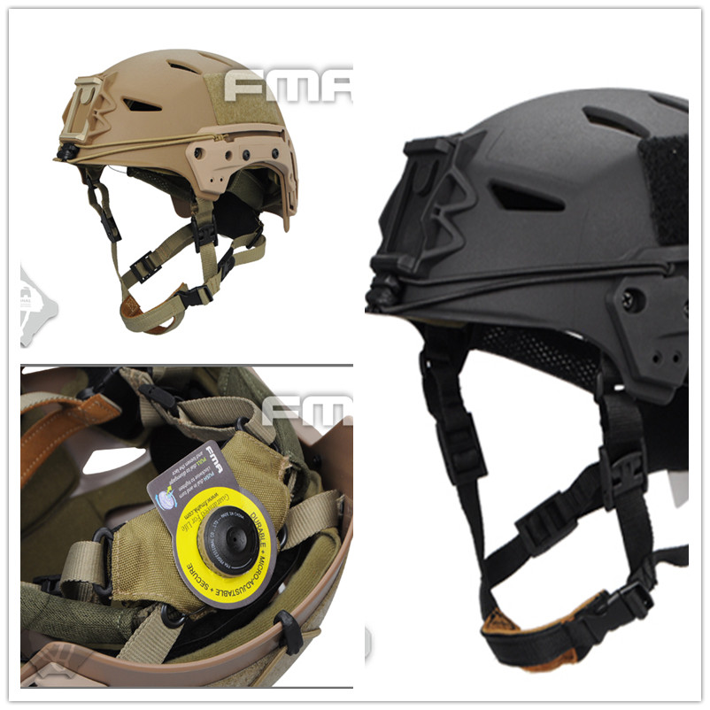 Free shipping 2017 NEW FMA Bump EXFIL Lite Tactical Helmet Tactical Military Airsoft Sports Safety Survival