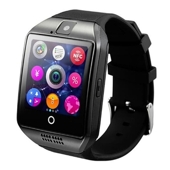 Wearable Devises future Watch Stride meter Touch Screen Camera Bluetooth Fitness Bracelet Compatible TF Card Android Running image