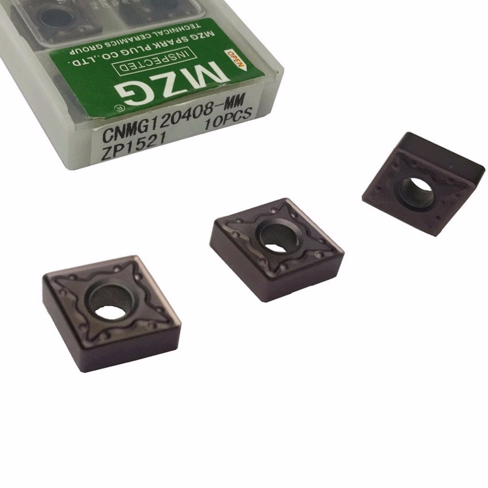 MZG CNMG120404 CNMG120408 MM ZP1521 Boring Turning CNC Cutting Tools Tungsten Carbide Inserts for Stainless Steel