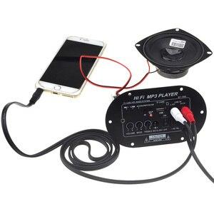Image 5 - ใหม่ TA8200AH Peak Power 120W ซับวูฟเฟอร์รถยนต์ Hi Fi เครื่องขยายเสียงรองรับ TF USB DC12V/24 v/AC100V 240V 12003141