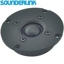Kasun HiFi silk soft magnet shield superb Dome speaker tweeter unit 3 inch 78MM  6Ohm