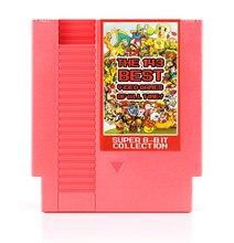 Os 143 em 1 melhores jogos de vídeo de todos os tempos! Contra/earthbound/megaman 123456/turtles 1234 72 pinos cartão de jogo de 8 bits