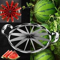 Kitchen Gadgets Summer Universal Stainless Steel Watermelon Sliced Vegetable Cutter Knife Fruit Slicer Tools Kitchen Accessories